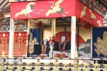 屋台芝居(歌舞伎)