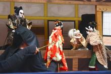 白久の串人形芝居