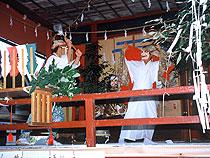浅間神社春祭り・秋祭り(神楽)
