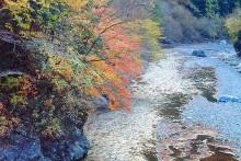 紅葉観賞マップ:秩父市荒川・浦山渓谷