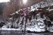 2016年の三十槌の氷柱
