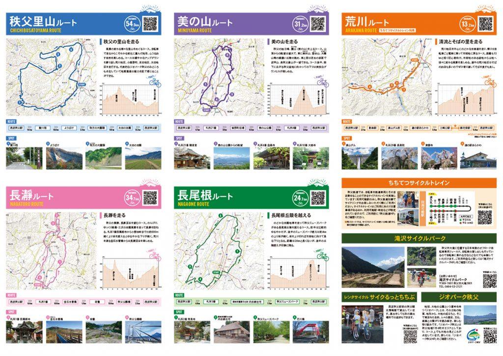 ちちぶサイクリングマップ