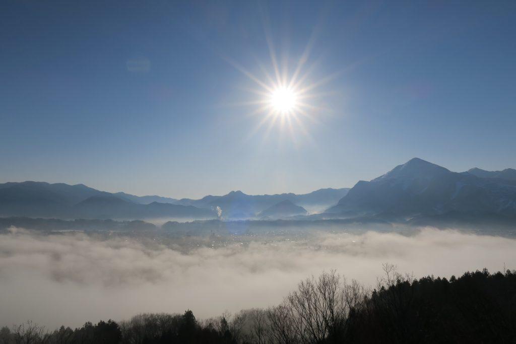 雲海 が でき やすい 条件