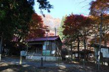 城峯山周辺の紅葉