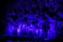 210120三十槌の氷柱ライトアップ